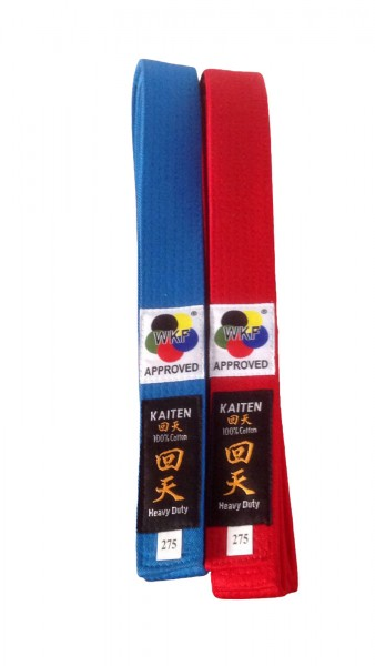 KAITEN WKF Wettkampfgurt Karategürtel