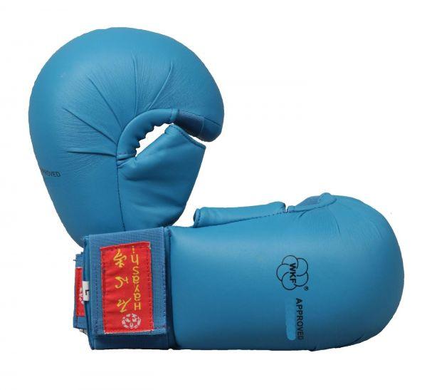 Karate Faustschutz Blau Tsuki Hayashi