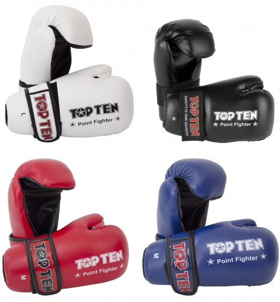 TOP TEN Kickboxhandschuhe Point Fighter