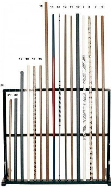 Bo-Stab Bamboo 2 farbig 180 cm