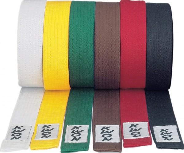 KWON Wettkampfgürtel in allen Farben