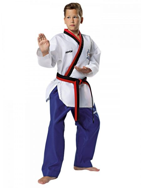 KWON Poomsae Taekwondo Poom Anzug mit WT-Zulassung Jungen