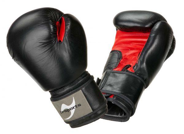 Ju-Sports Boxhandschuhe Schwarz-Rot