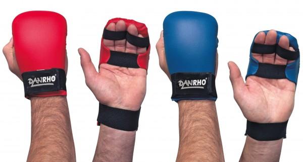 DANRHO Karate Handschützer Pale in rot und blau