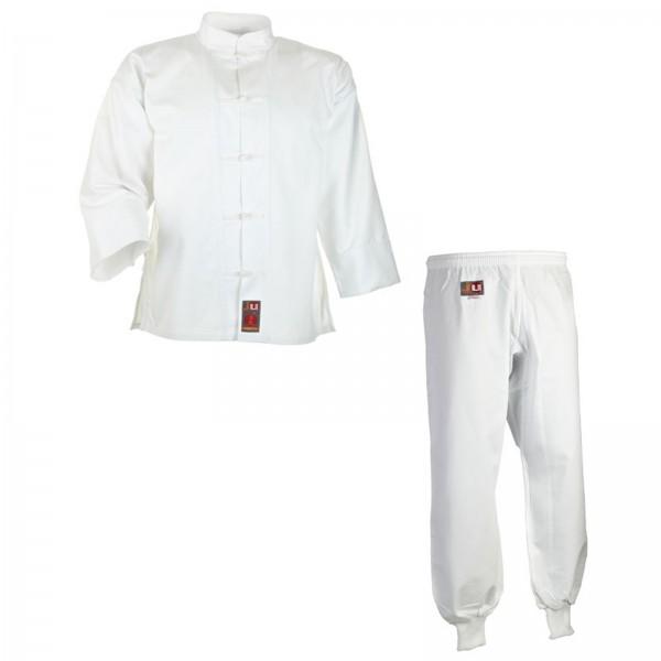 Ju-Sports Kung-Fu Anzug weiß Baumwolle