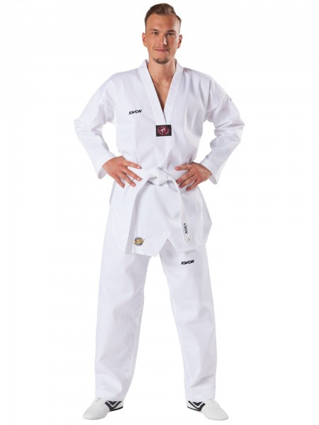 KWON Taekwondo-Anzug Victory mit weißem Revers