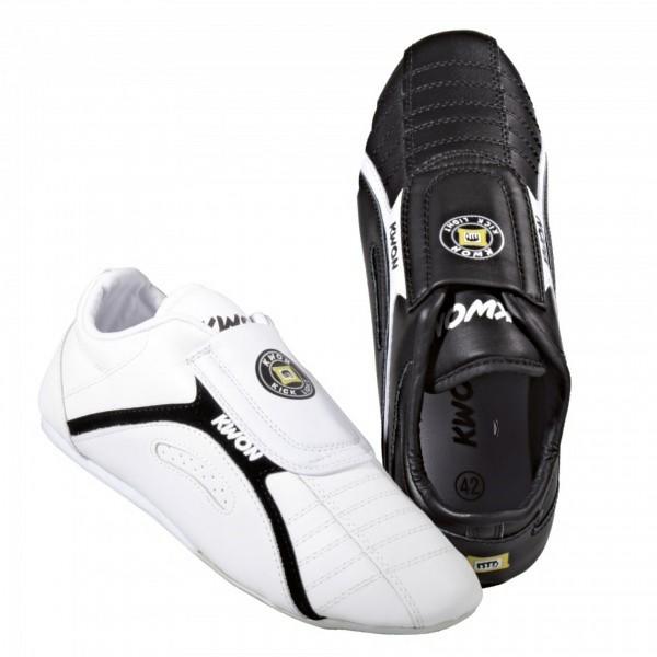 Schwarze und weiße Trainingsschuhe Kick Light von KWON