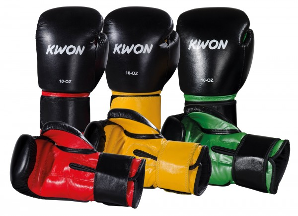 KWON Leder-Boxhandschuhe Knocking