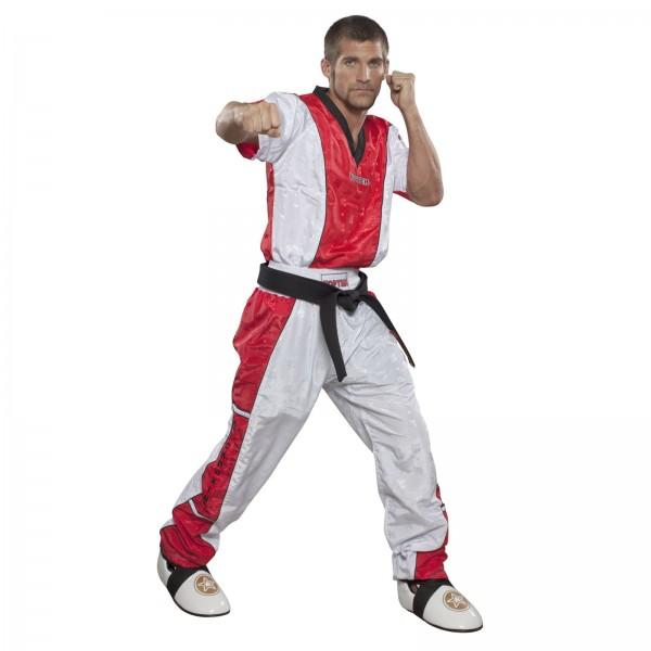 "TOP TEN T-Shirt mit V-Ausschnitt zum Kickboxen ""Kickboxjacke Kickboxing"""
