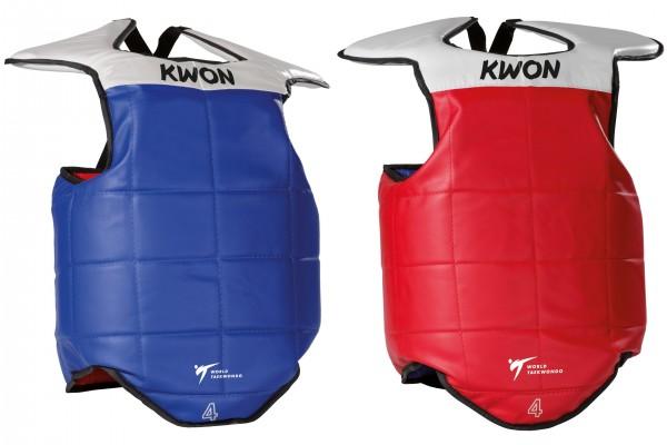 Beidseitig verwendbare Taekwondo Weste KWON Daeryeon mit TKD Zulassung