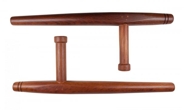 traditioneller Tonfa Paarweise in Holzdesign KWON