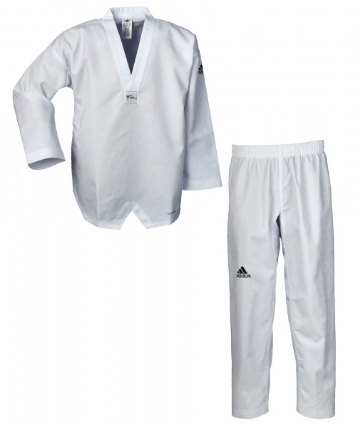 ADIDAS Taekwondo-Anzug adiChamp IV, weißes Revers, ADITCH04