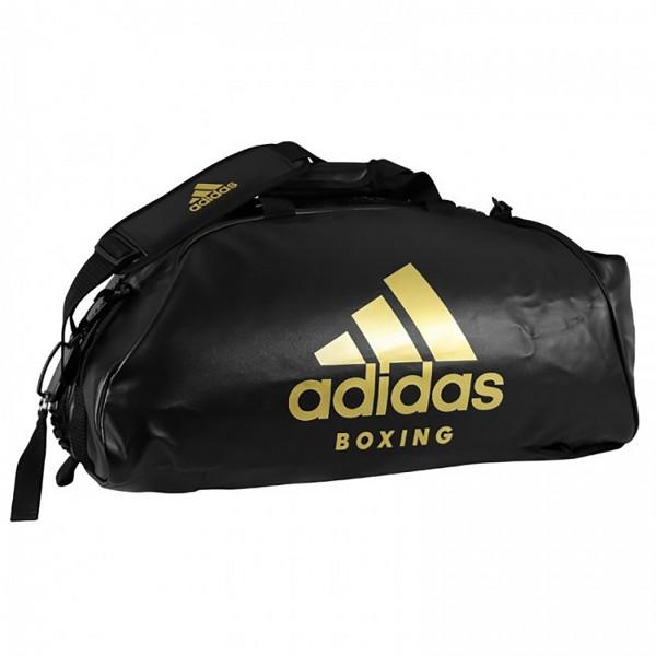 ADIDAS Sporttasche Sports Bag Shoulder Strap Boxing Black/Gold L