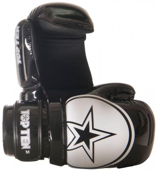 TOP TEN Pointfighter Glossy Block Star Kickbox Handschuhe