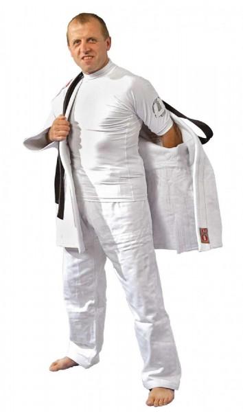 Ju-Sports Rash Guard kurzarm Under-Gi weiß