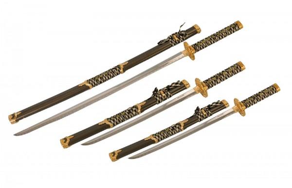 Ju-Sports Zierschwerter schwarz/gold