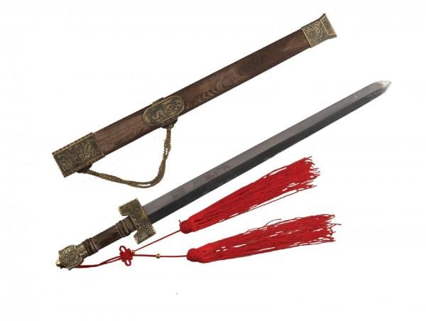Ju-Sports Tai Chi Schwert 70 cm Holzscheide