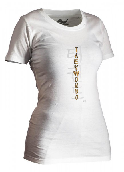Ju-Sports Taekwondo-Shirt Classic weiß Lady
