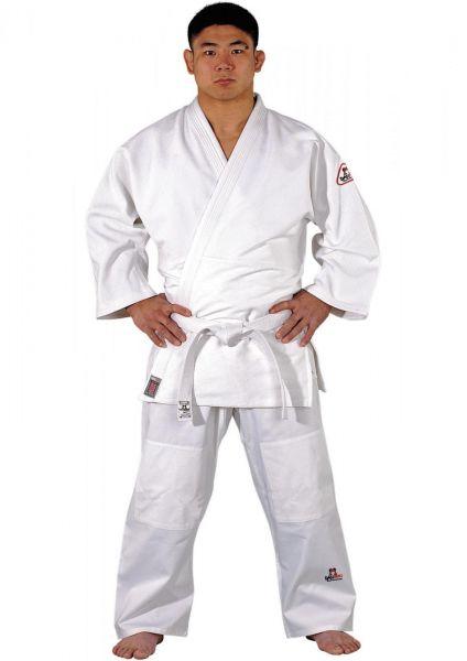 Weißer Danrho Judoanzug Dojo Line Tong II