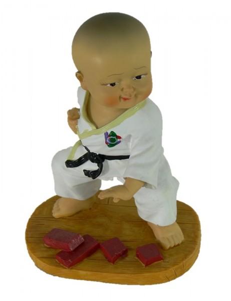 Karatefigur 2 ca. 12cm hoch, aus Polyresin