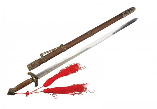 Ju-Sports Tai Chi Schwert 100 cm Holzscheide
