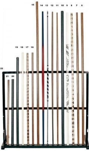 Bo-Stab Competition silber/schwarz 180 cm