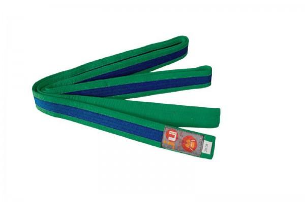 Ju-Sports Budogürtel grün/blau/grün