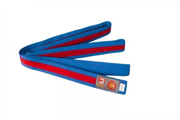 Ju-Sports Budogürtel blau/rot/blau