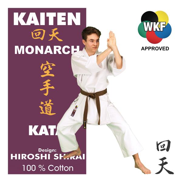 KAITEN Karateanzug Monarch Kata WKF