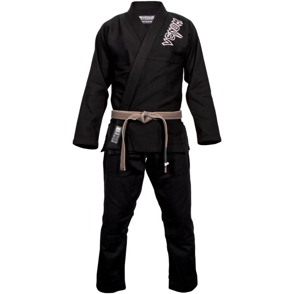 VENUM Contender 2.0 BJJ Gi Black Ju Jutsu Anzug