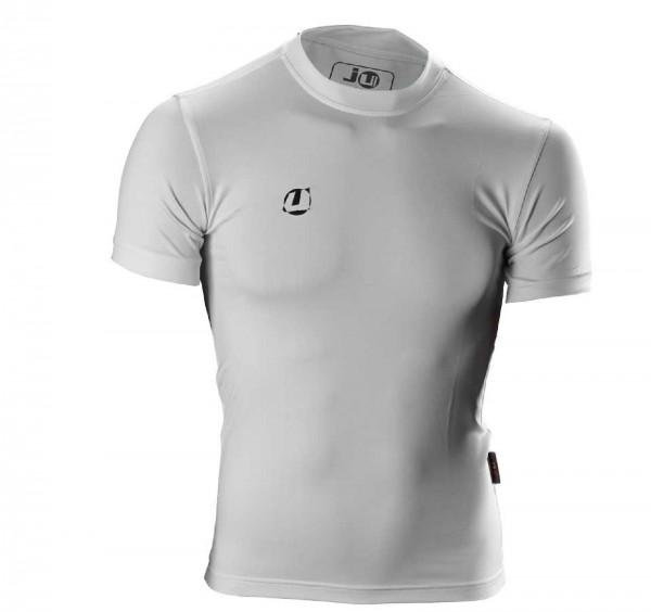 Ju-Sports Compression Shirt kurzarm weiß