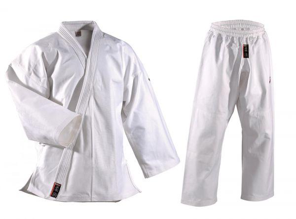 Weißer Danrho Ju Jutsu Anzug Shogun Plus 1