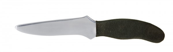 Trainingsmesser Survival Knife mit schwarzem Griff von KWON