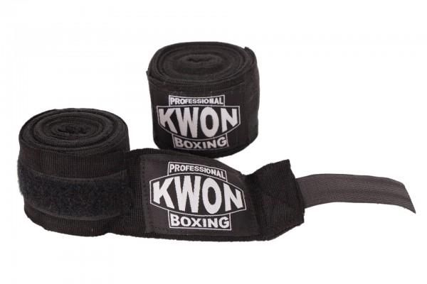 Boxbandage elastisch, schwarz