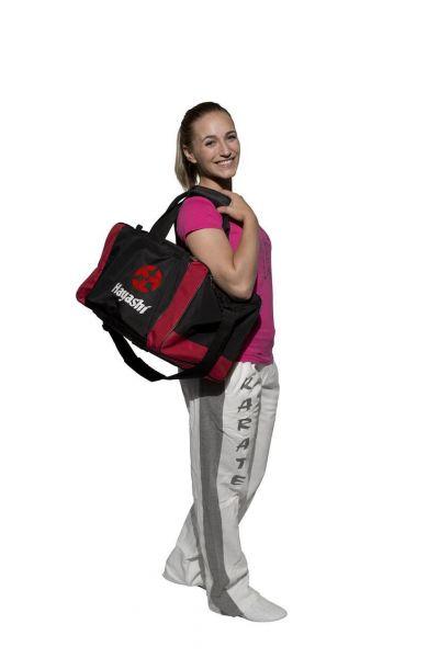 Sporttasche Hayashi Medium schwarz/rot von HAYASHI ®