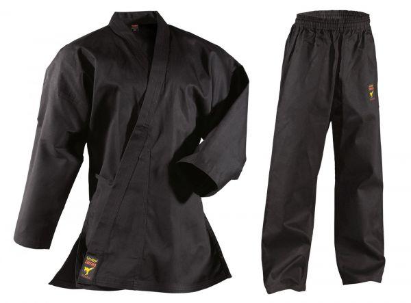 Schwarzer DANRHO Karateanzug Asia Shiro in 9oz